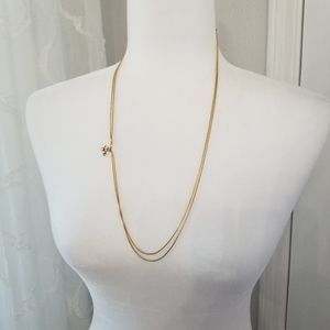 🎉🎉 Avon - gold double chain, charm